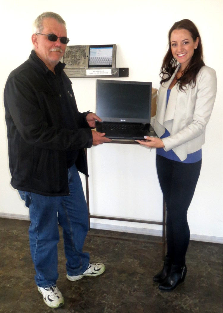 Donation from Electronic Recycling Association of Alberta