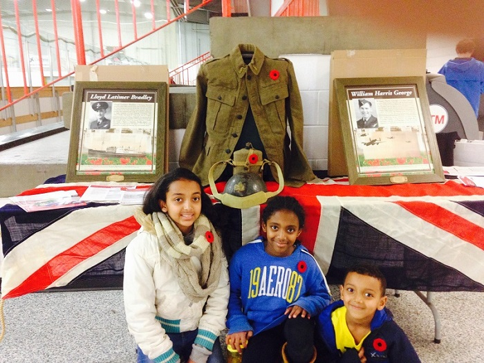 Remembrance in Action: John Pritchard students research �Fallen Heroes�